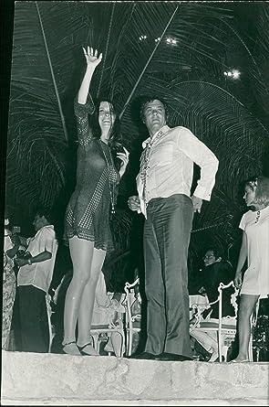 Vintage Photo Of Tony Curtis And Leslie Allen Amazonde Küche