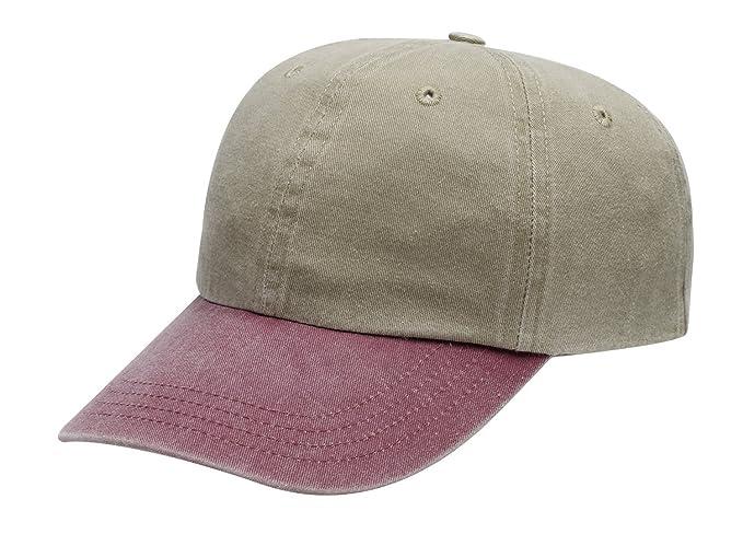 4d905c9f46d21 Port & Company Men's Two Tone Pigment Dyed Cap at Amazon Men's Clothing  store: