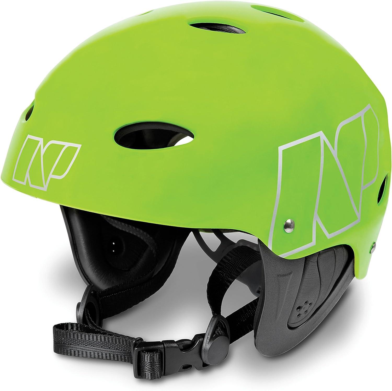 Flouro Green Matt NP Surf Watersports Helmet