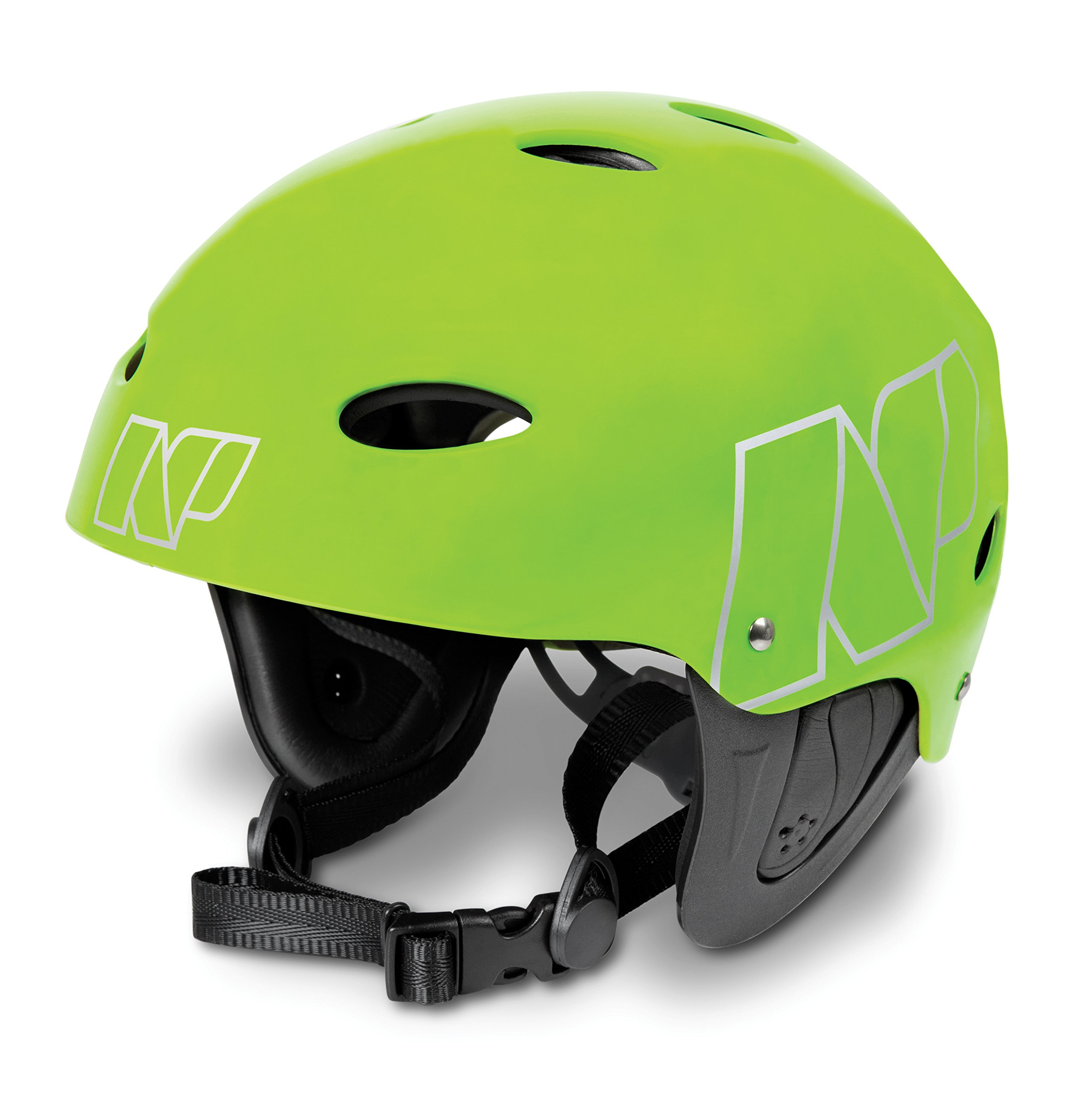 NP Surf Watersports Helmet, Flouro Green Matt, Large