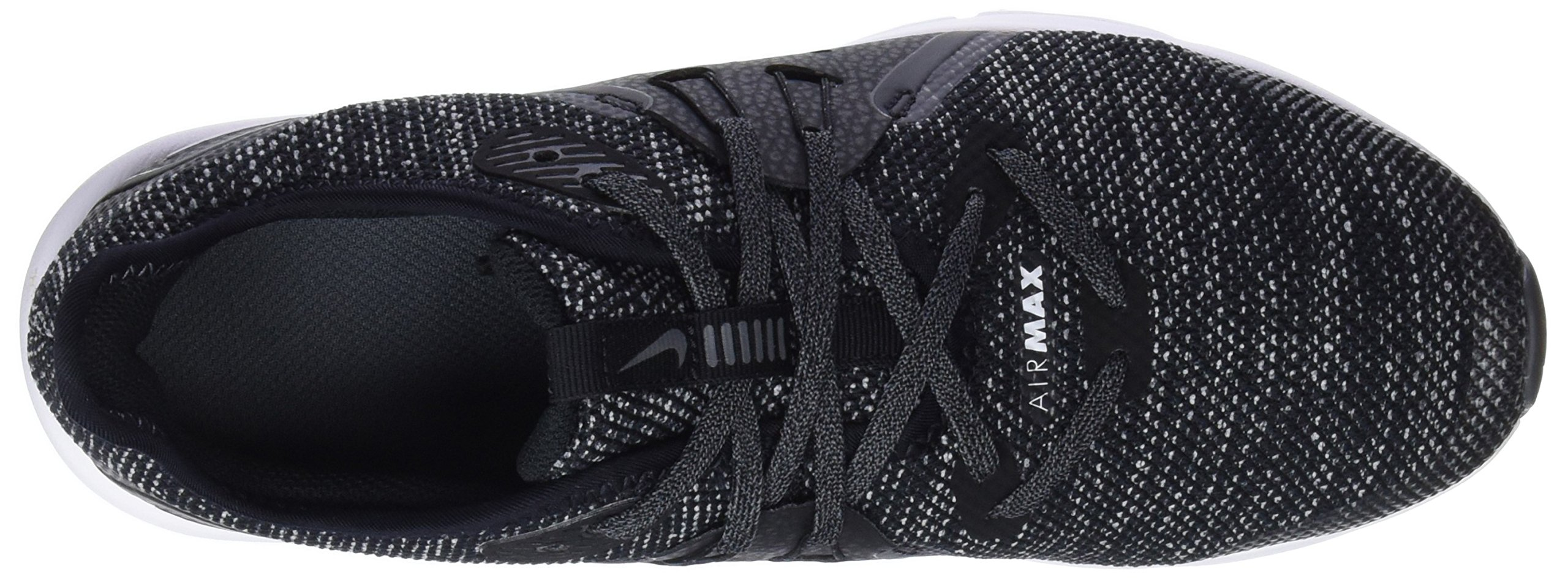Nike Boy's Air Max Sequent 3 Running Shoe Black/White/Dark Grey Size 3.5 M US by Nike (Image #7)