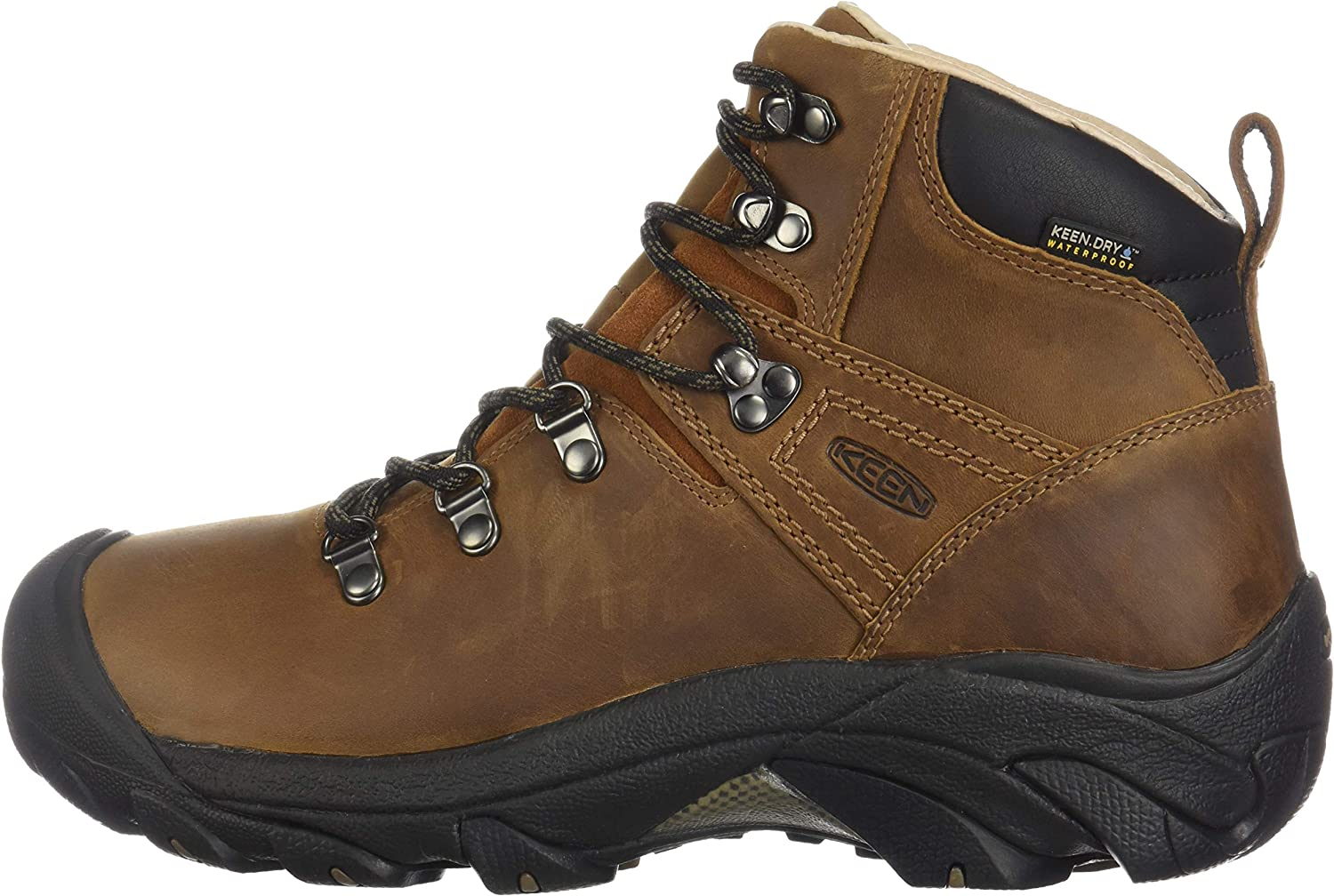 Syrup UK8 Keen Womens Pyrenees Leather Walking Boot