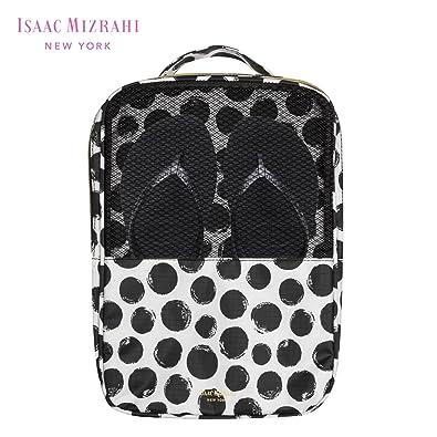 Amazoncom Isaac Mizrahi Mesh Zippered Travel Shoe Bag Organizer