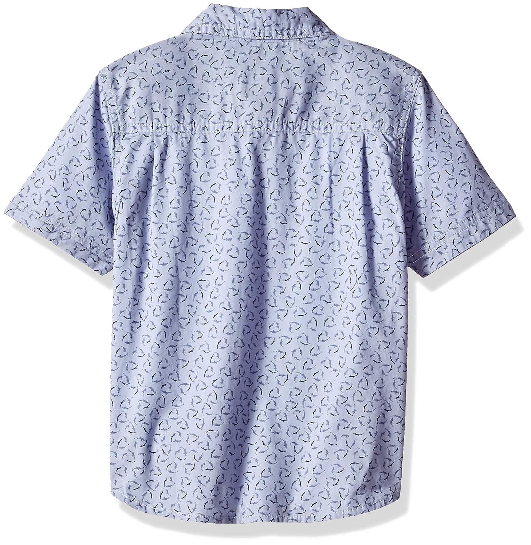LEE Boys Little Short Sleeve Button Up Shirt