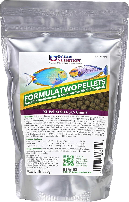 Ocean Nutrition Formula Two Pellets 1.1-Pounds (500 Grams) Bag - Extra Large Pellet Size