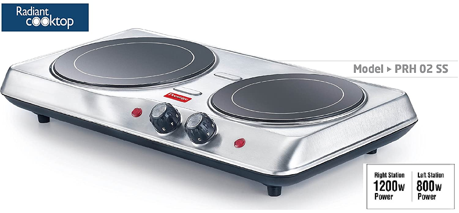Buy Prestige Electric Stove Radiant Cook Top(All Utensils Friendly ...