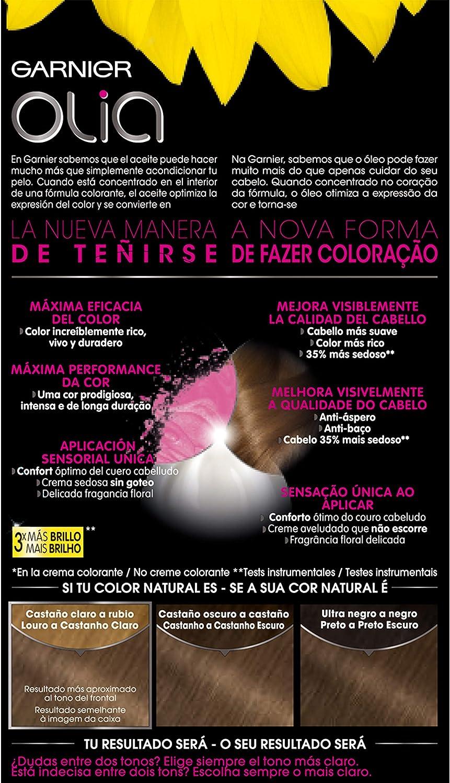 Garnier Olia, Aceites Florales, Tono 6.0, Rubio Oscuro ...