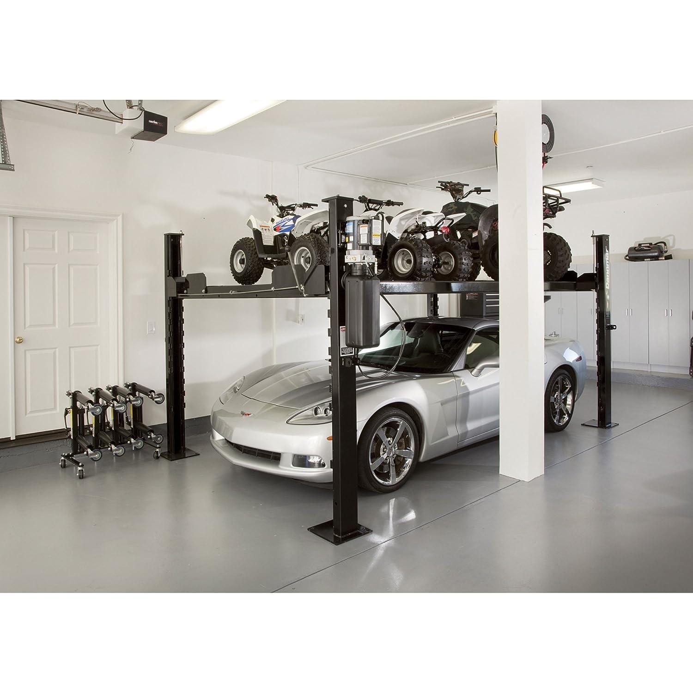 amazon com dannmar equipment 4 post auto lift storage lift