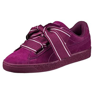 san francisco b728b 6931a Puma Women's Suede Heart Satin II WN's Sneakers: Buy Online ...