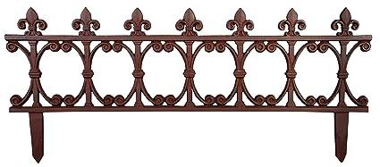 Esschert Design USA PS21 Cast Iron Garden Fence