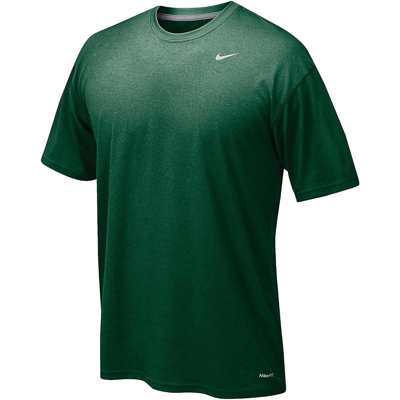 Nike 384407 Legend Dri Fit Short Sleeve Tee – Navy B003TT2Y9Y Small Dark Green Dark Green Small