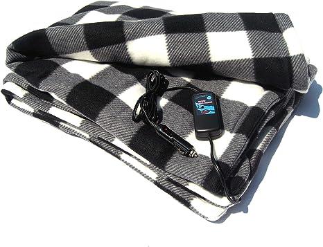 Amazon.com: Cozy 2 Manta de viaje con calefacción y ...