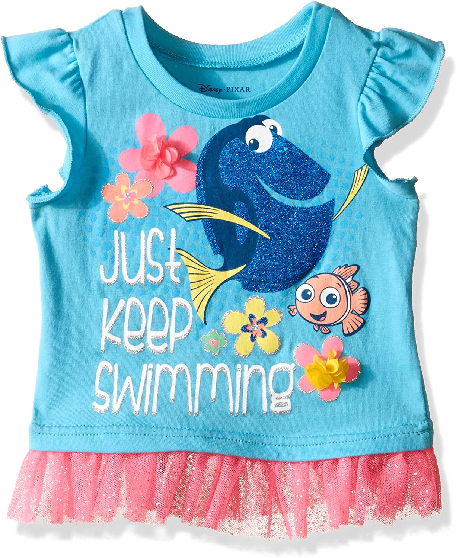 T-Shirt Disney Girls Finding Dory Wheres Dory