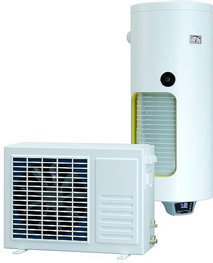 Conjunto Compuesto de agua caliente vertical 150 l con bomba de calor