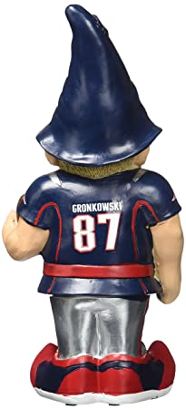 New England Patriots Gronkowski R. 87 Resin Player Gnome