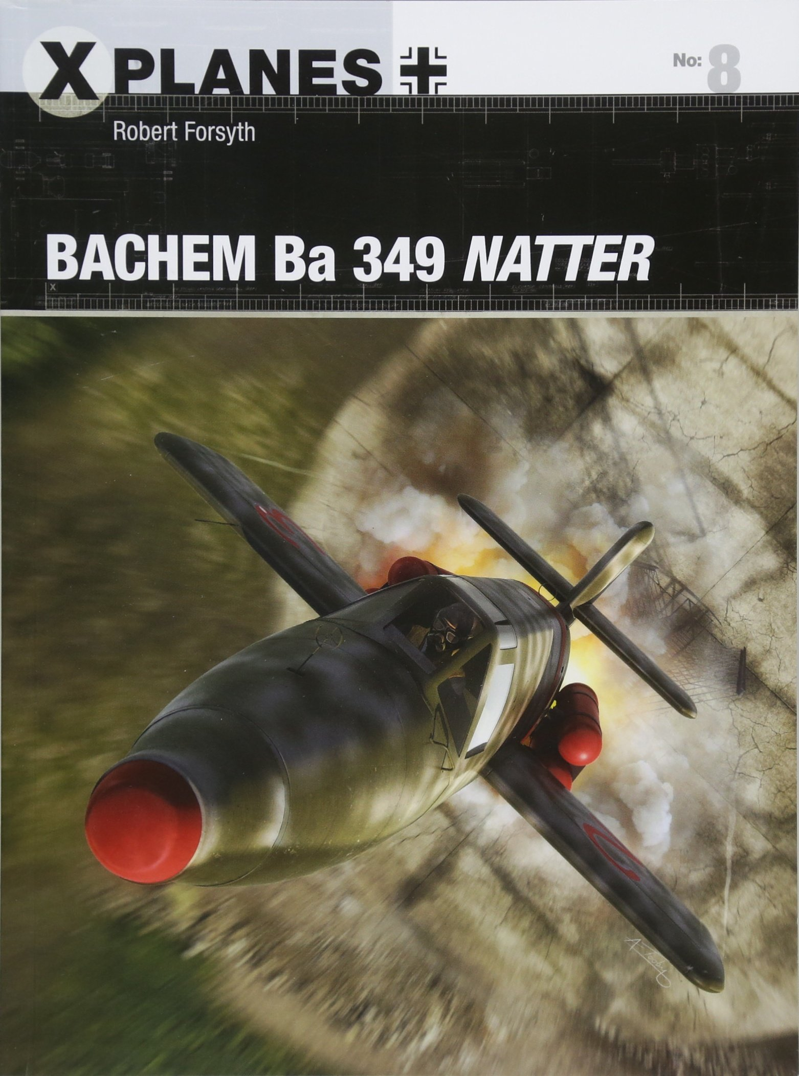 Bachem Ba 349 Natter (X-Planes, Band 8)
