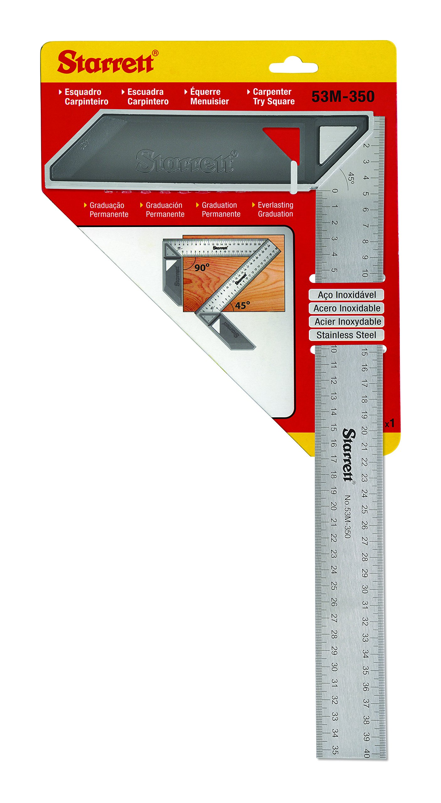 Starrett K53M-350-S Try Square