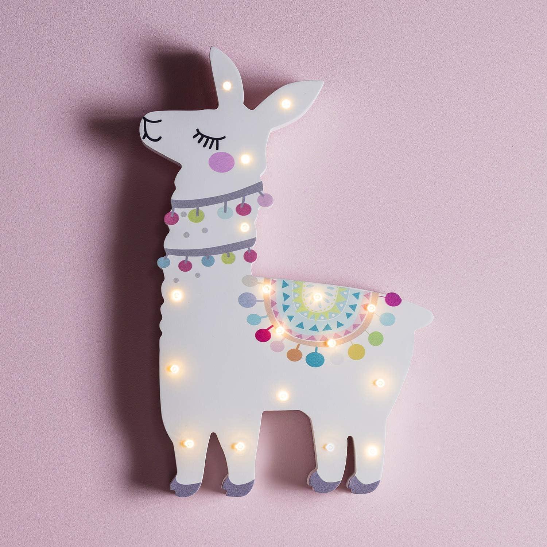 Lama Nachtlicht für die Wand