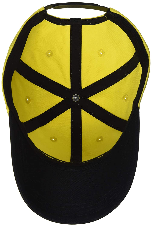 timeless design 772e3 f99e2 PUMA BVB Fan Cap Gorra Unisex Adulto OSFA Black Cyber Yellow
