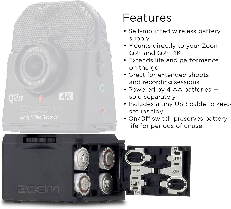 Zoom Bcq2n Akkufachtasche Für Q2n Q2n 4k Musikinstrumente