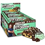 FITCRUNCH Snack Size Protein Bars, Designed by Robert Irvine, World's Only 6-Layer Baked Bar, Just 3g of Sugar & Soft…