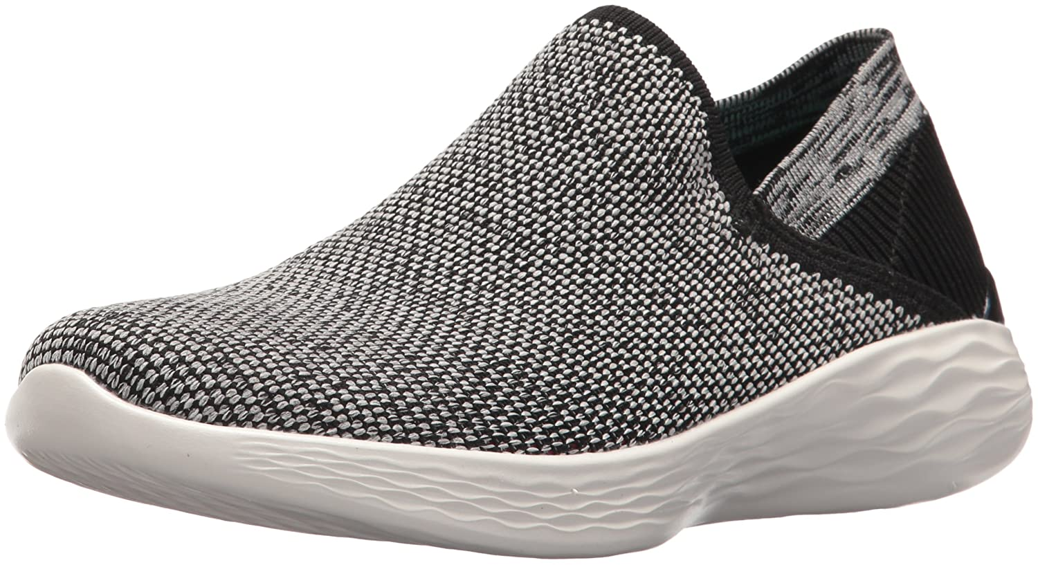 Skechers Noir/Blanc You-Rise, Baskets Enfiler Enfiler Femme Baskets Noir/Blanc 204bda0 - latesttechnology.space