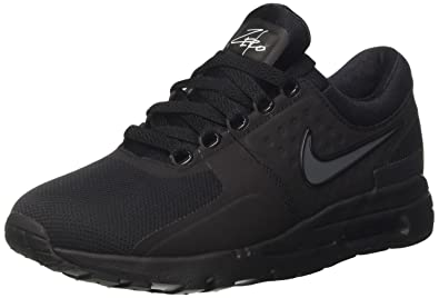 Nike Damen Air Max Zero Sneaker Schwarz Black Dark Grey White, 36.5 ...