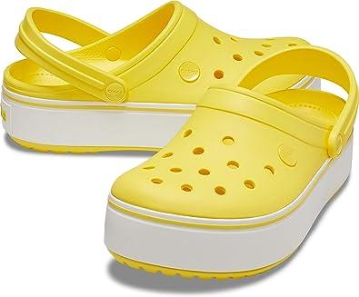 Crocs Crocband Platform Clog, Sunshine