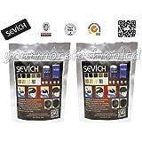 Sevich - Bolsa de 25 g de fibras capilares de queratina natural 100% para disimular