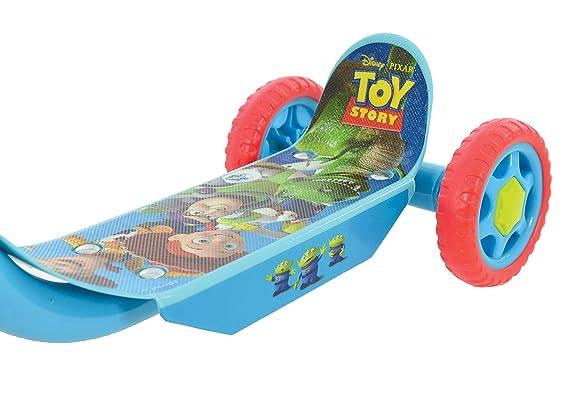 Amazon.com: Disney M004006 Toy Story - Patinete triple ...