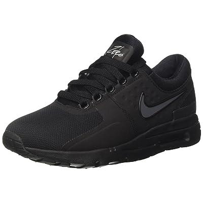 NIKE Womens Air Max Zero Black/Black/Dark/Grey/White Running Shoe 7.5 Women US | Road Running