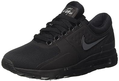best website fe8f8 95884 Nike Damen Air Max Zero Sneaker Schwarz Black Dark Grey White, 36.5 EU
