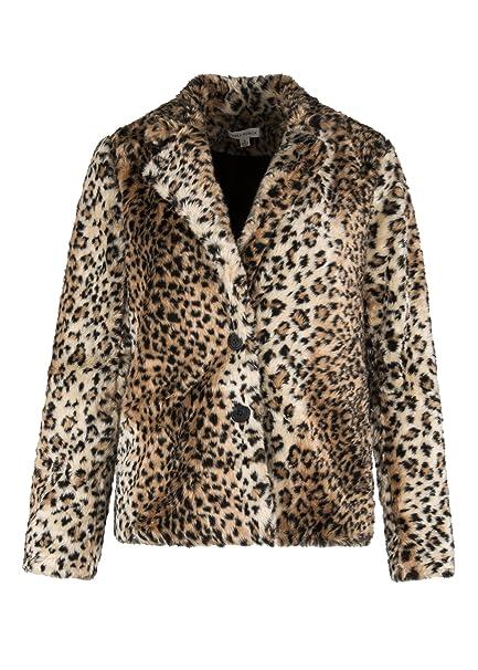 Amazon.com: Para mujer de leopardo guepardo de peluche ...