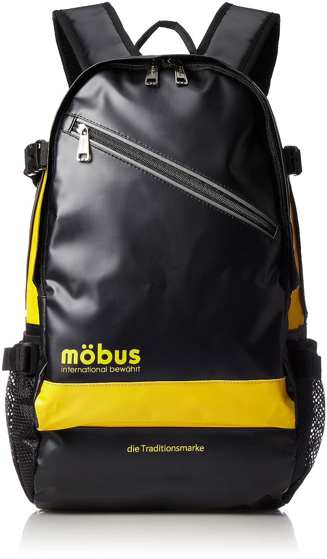 [モーブス] リュックサック 多機能バックパック MBX506N B075K96X12 ブラック/イエロー ブラック/イエロー