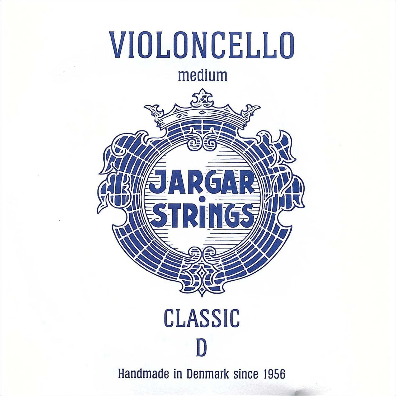 Jargar 4/4 Cello D String Medium Chromesteel