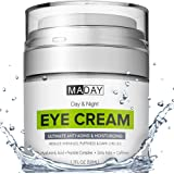Eye Cream - Reduce Dark Circles, Puffiness and Under Eye Bags - Effective Anti-Wrinkles Treatment - Anti-Aging Eye Gel…