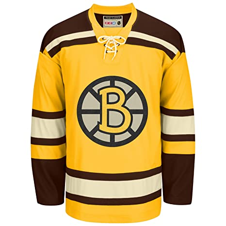 huge discount 336fa ec8e4 Amazon.com : Reebok Boston Bruins CCM NHL Vintage Premier ...