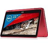 Dell 2in1ノートパソコン Inspiron 11 Celeronモデル レッド 17Q31R/Windows10/11.6インチ/4GB/32GB