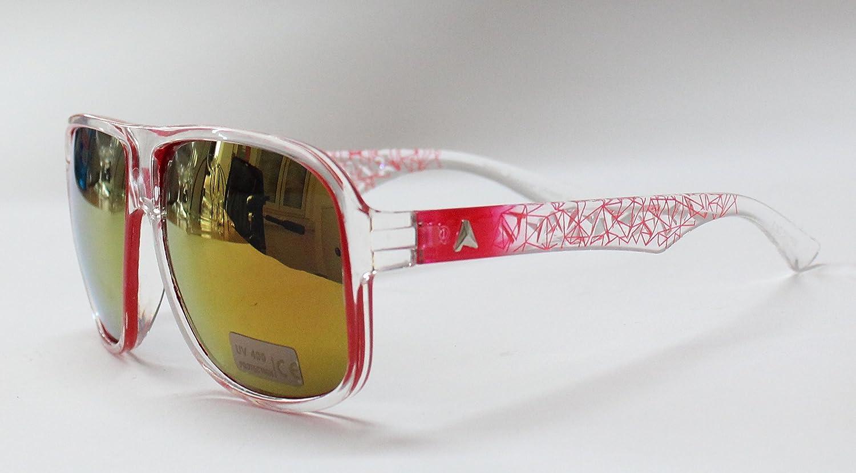 Sunny-fashion - Lunettes de soleil - Homme multicolore rose bonbon RbTZZtG