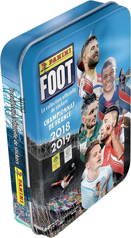Panini - Caja de Metal con 13 Fundas, diseño de fútbol 2018-2019 ...