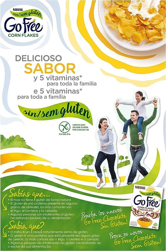 Cereales Nestlé Go Free - 1 paquete de 375 g: Amazon.es ...