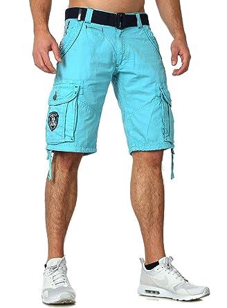 549e82c22f57 Geographical Norway Bermuda Shorts Padang in 5 Farben TOP Qualität Navy   Amazon.de  Bekleidung