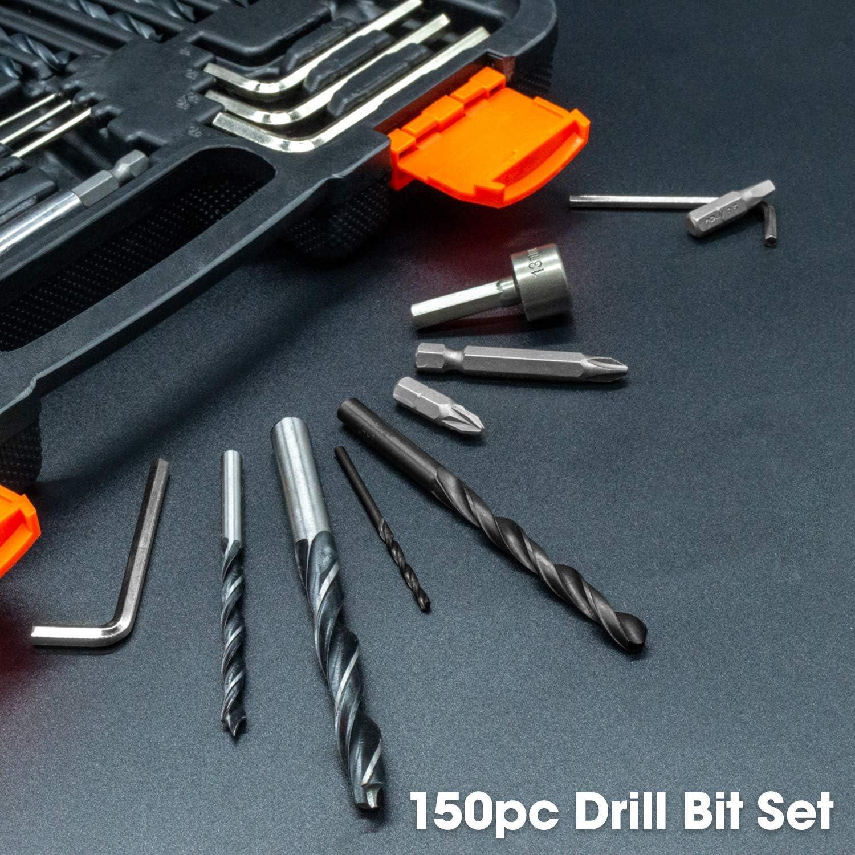 32 pièces sécurité Puissance Bit Set Brand New in Case magnétique porte-embout