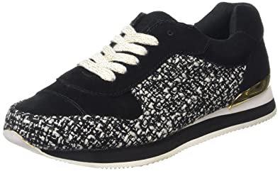 Emmah - Baskets Sportives, Femme, Multicolore (Pony Pitch Black), Taille 38Juicy Couture