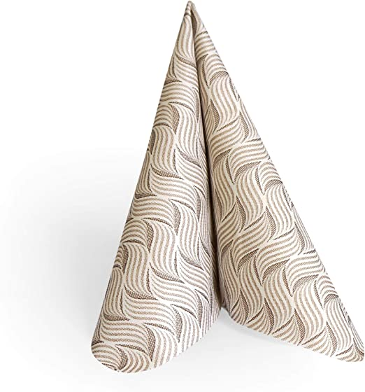 Papel-servilletas mini//patchwork//Taupe