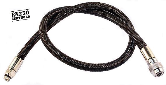 banda para el tubo de escape de 10 m x 50 mm con 10x bridas met/álicas para coche y moto Banda protectora de calor de Titan