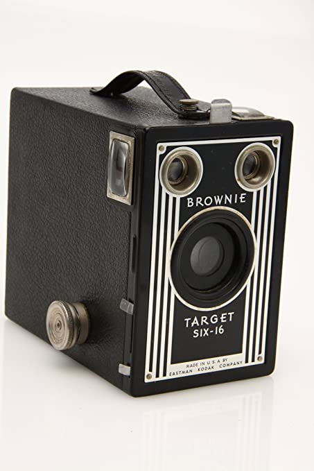 Amazon Com Vintage Kodak Brownie Target Six 16 Art Deco Box Camera As Pictured Everything Else