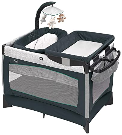 amazon com chicco lullaby baby playard empire gray baby rh amazon com chicco pack and play owners manual Chicco Lullaby Pack and Play