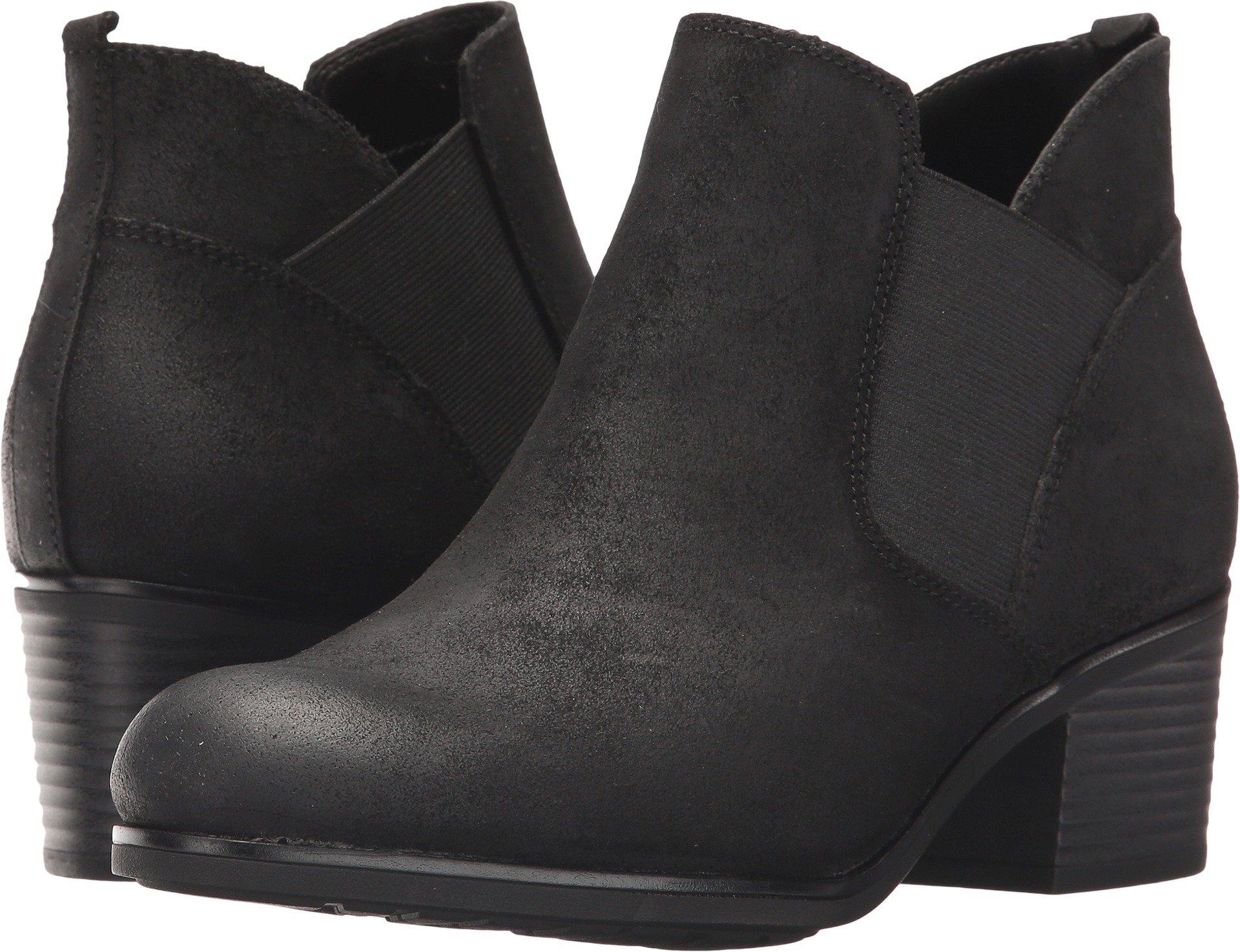Rockport Women's Danii Chelsea Boot, Black Suede, 11 M US