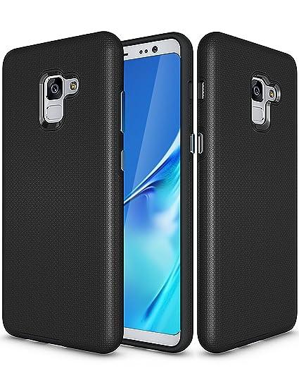 new products b08db 04424 Amazon.com: Galaxy A5 2018 Case, A8 2018 Case, Pasonomi [Shock ...